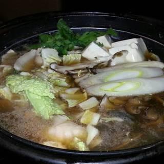 豚バラ海鮮鍋