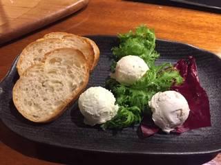 3種のクリームチーズ盛り合わせ