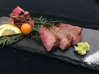かつべ牛のステーキ