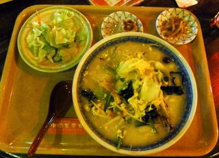 農家の野菜五目あんかけタン麺