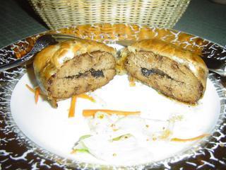 イベリコ豚のパイ包み