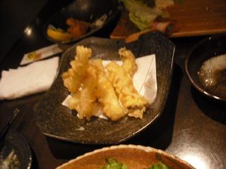 エリンギの天ぷら