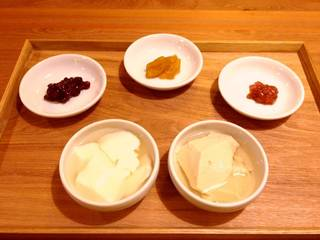 豆花&杏仁豆腐食べくらべセット