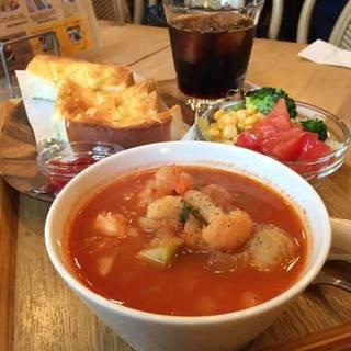 ミートボールと野菜のスープ