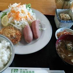 道の駅 羽鳥湖高原 レストラン