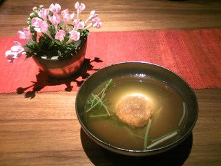 蓮根饅頭和風スープ