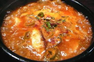 カレー豆腐チゲ