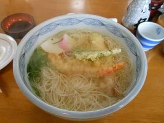 天ぷらにゅう麺
