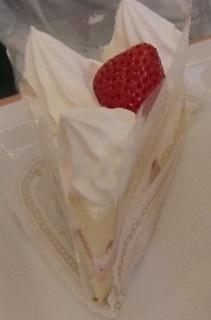 三角ショートケーキ