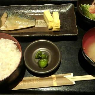 季節の魚定食