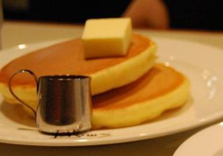 2段ホットケーキ