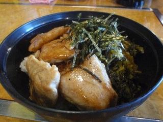 焼きマグロ丼