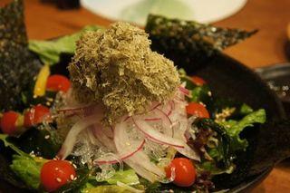 ぶちぶち海藻サラダ