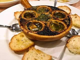 ムール貝のオーブン焼き ガーリック風味