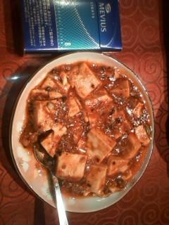 ミニ麻婆豆腐
