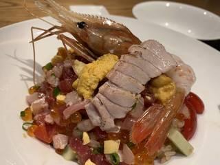 海鮮イタリアンちらし寿司