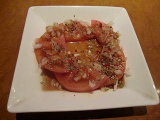ピリ辛トマト