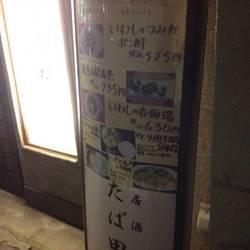 居酒屋たば田