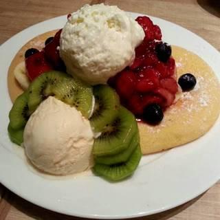 パンケーキ フルーツMIX