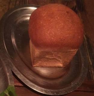 自家製!焼きたてイギリスパン
