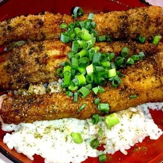 太刀魚蒲焼き丼