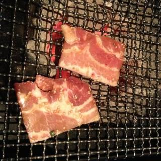 豚カルビ定食
