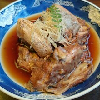 魚のあら煮