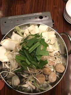自家製ピリ辛もつ鍋