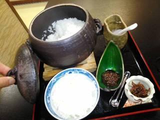 岐阜白川米の土鍋御飯