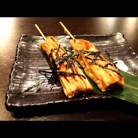 鰻巻き串焼き