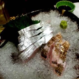 太刀魚の造り