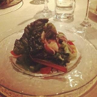 シェフ厳選野菜のサラダバーニャカウダ風味