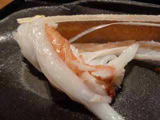 津居山蟹の足