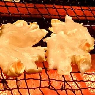 間人蟹の焼きもの