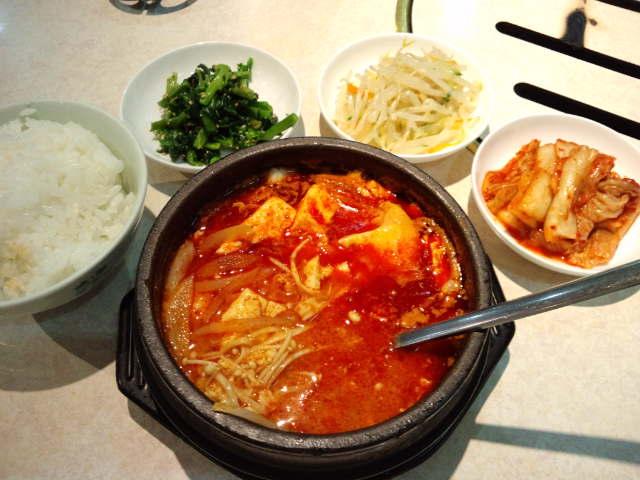 絹豆腐チゲ
