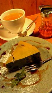 季節のチーズケーキのセット