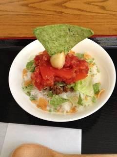 田子タコライス丼 ハーフ