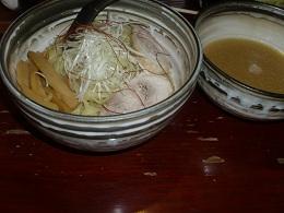 夏麺 鶏白湯塩つけ麺