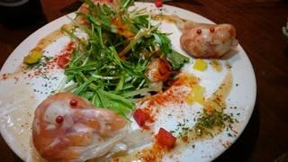 「きんぎょ」のサラダ