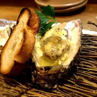大分産真牡蠣のガーリックバター