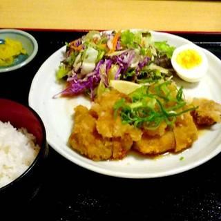 おろしポン酢カツ定食