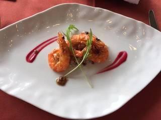海老とキヌアのサラダ仕立て