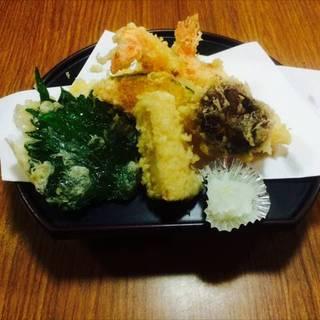 天ぷら盛合せ