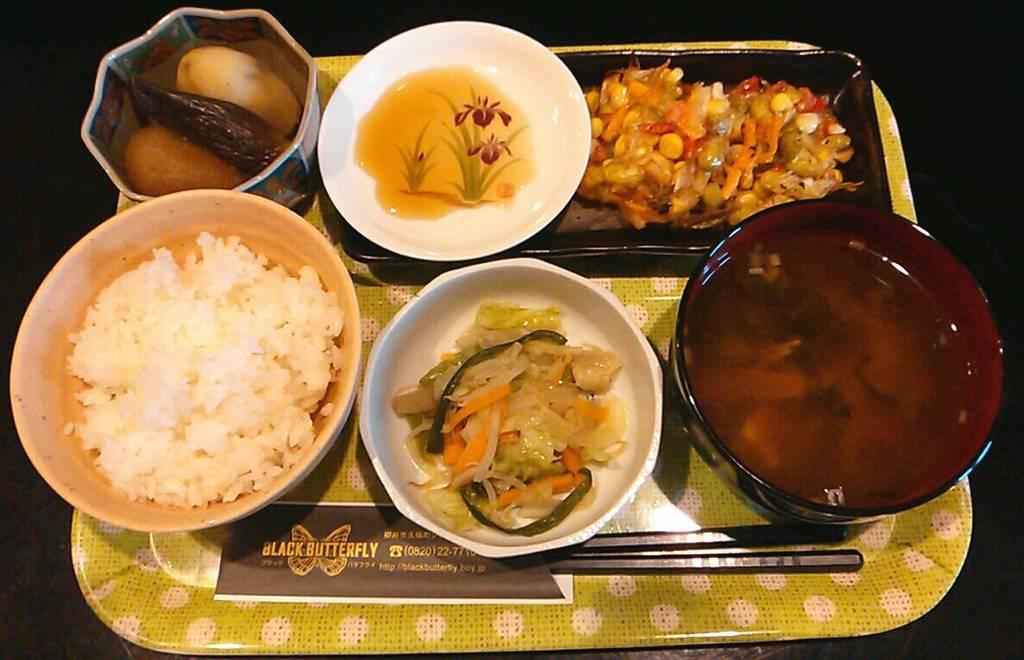 野菜のかき揚げ定食