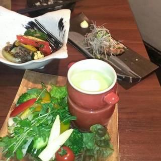 旬野菜いっぱいバーニャカウダ