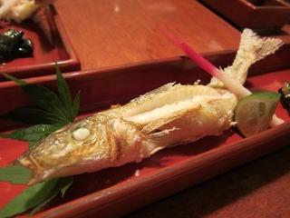 本日の魚 塩焼き