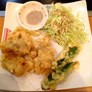 白肉の天ぷら