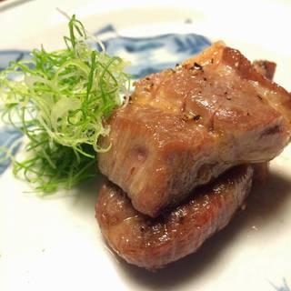 キントア豚の焼き物