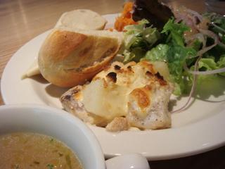 鱈とジャガイモのグラタン