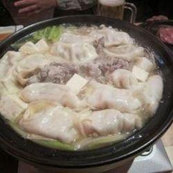 野菜たっぷりアグー餃子鍋コース